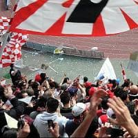 Bari calcio, sorpresi in trasferta con marijuana e megafono: Daspo per due