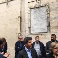 Foggia, il ministro Orlando sulla tomba di Di Vittorio: