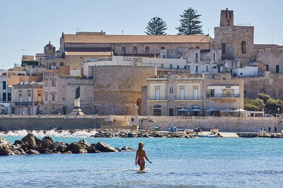 1 novembre al mare in salento il bagno a otranto 1 di - Bagno al mare ...