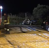 Molfetta, frontale fra due auto