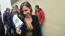 Malena, una pornostar alla convention con Renzi