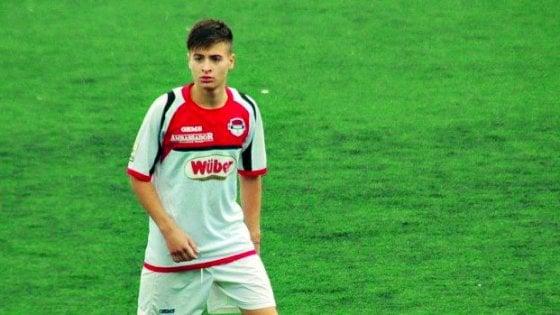 """Calcio, il premio fair play del Coni al baby del Foggia: """"Quello non fatto è stato il gol della mia vita"""""""