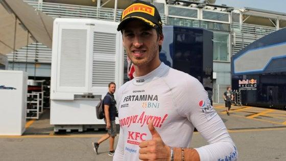 """Formula 2, il pugliese Giovinazzi a un passo dal titolo mondiale: """"Il sogno è qui"""""""