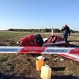 Lecce, precipita ultraleggero due feriti, uno è in fin di vita Stavano testando l'aereo   foto