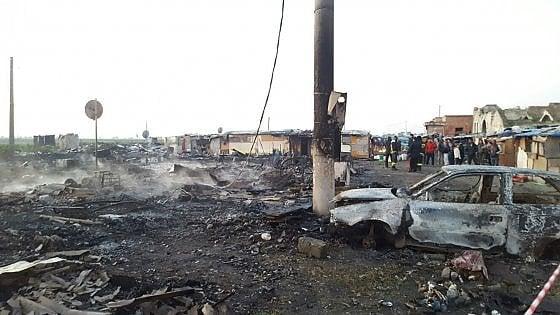 Foggia, incendio ghetto dei bulgari: morto bracciante di 20 anni