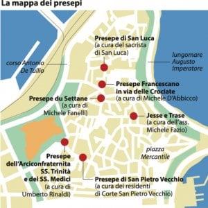 Cartina Distributori Metano Puglia.Bari Vecchia Un Itinerario Di Sei Presepi Per Scoprire Il Natale Della Tradizione La Repubblica