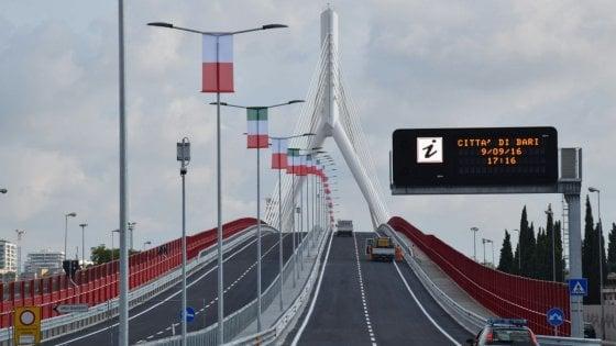 Bari, si chiamerà Adriatico il ponte dell'Asse nord-sud: lo ha deciso il sondaggio del Comune