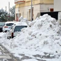 Neve, scuole chiuse in molti comuni del Foggiano. Coldiretti: