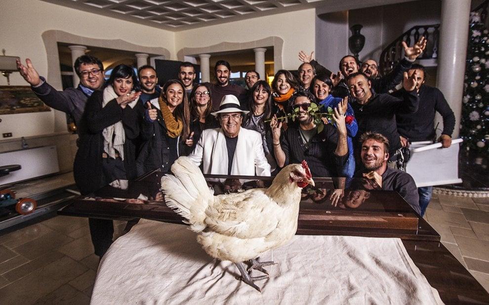 Al Bano gira a Brindisi il videoclip per Sanremo