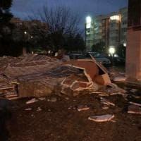 Bari, crolla il 'cappotto' delle case popolari: