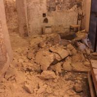 Massafra, crolla il soffitto di un'antica cripta: nessun ferito, salvi gli