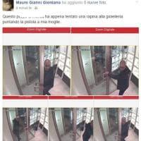 Lecce, orafo posta su Facebook le foto del rapinatore