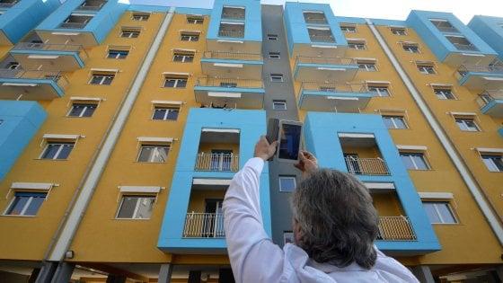 Bari consegnate 42 nuove case popolari al quartiere santa for Nuove case con seminterrato di sciopero