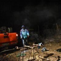 Migranti, rogo nel 'Gran ghetto' di Rignano: due morti
