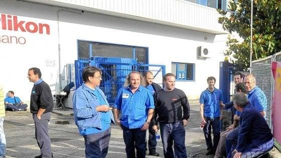 Bari, operaio licenziato dopo un intervento al cuore: sciopero contro la Oerlikon-Graziano