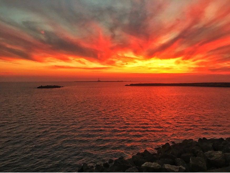 bari lungomare tramonto az - photo#47
