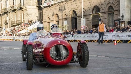 Gran premio di Bari, dal 28 al 30 aprile sfilano in città le auto da corsa che hanno fatto storia