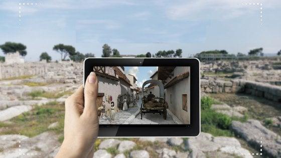 Archeologia, in Puglia il tour nell'antica Egnazia diventa virtuale con ologrammi e app