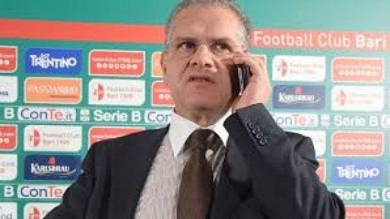 """Bari calcio, il presidente Giancaspro: """"La squadra è in crisi, ma Colantuono non si tocca"""""""