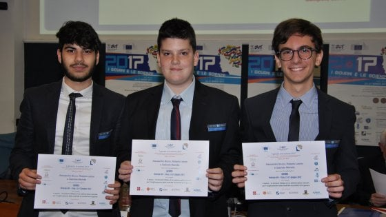 'Bava di lumaca per conservare il cibo', 3 liceali da Gallipoli agli Usa per le Olimpiadi dei piccoli geni