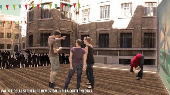 """Bari, il liceo Flacco apre il cortile a mostre e spettacoli: """"Sarà la piazza del..."""