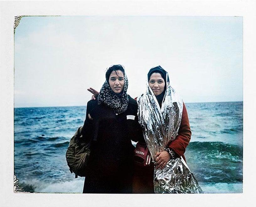 Le Polaroid dei rifugiati: un reportage in 1.200 scatti