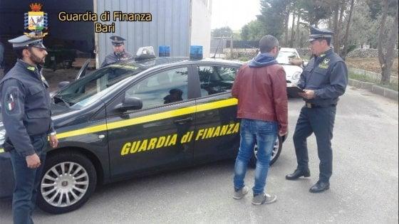 Lavoro nero in Puglia: scoperti 192 lavoratori irregolari