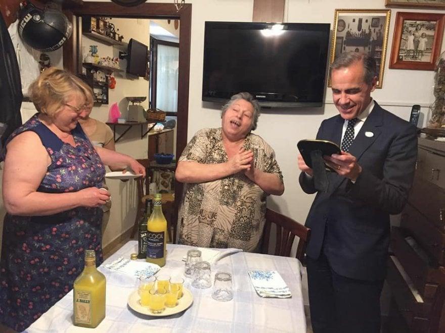 Bari, il limoncello speciale del banchiere d'Inghilterra