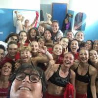 Calcio femminile, a Bari festa social negli spogliatoi