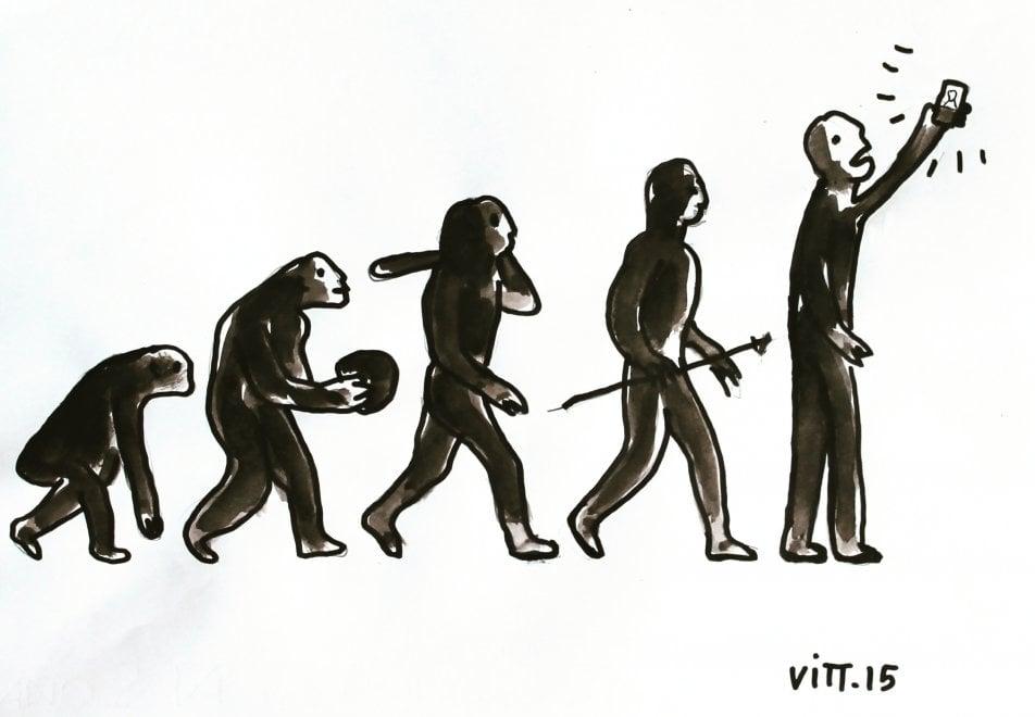 'No Tag' di Vittorino Curci: i disegni sembrano musica