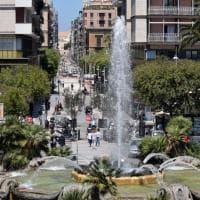Bari, l'effetto 'cannocchiale' in via Sparano senza edicola
