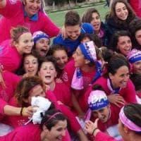 Calcio femminile, la Pink Bari vince lo spareggio con la Roma e torna in