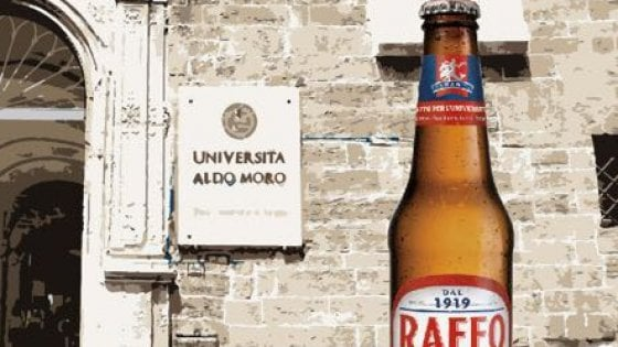 Taranto, sulle bottiglie di birra il logo dell
