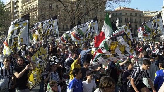 Juventus-Real, la carica dei tifosi pugliesi a Cardiff: Emiliano sul charter dei parlamentari