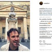 Matt Dillon in Salento, la vacanza è social