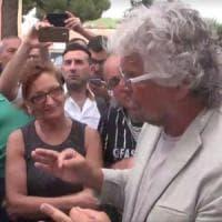 Taranto, Beppe Grillo in città per le comunali:
