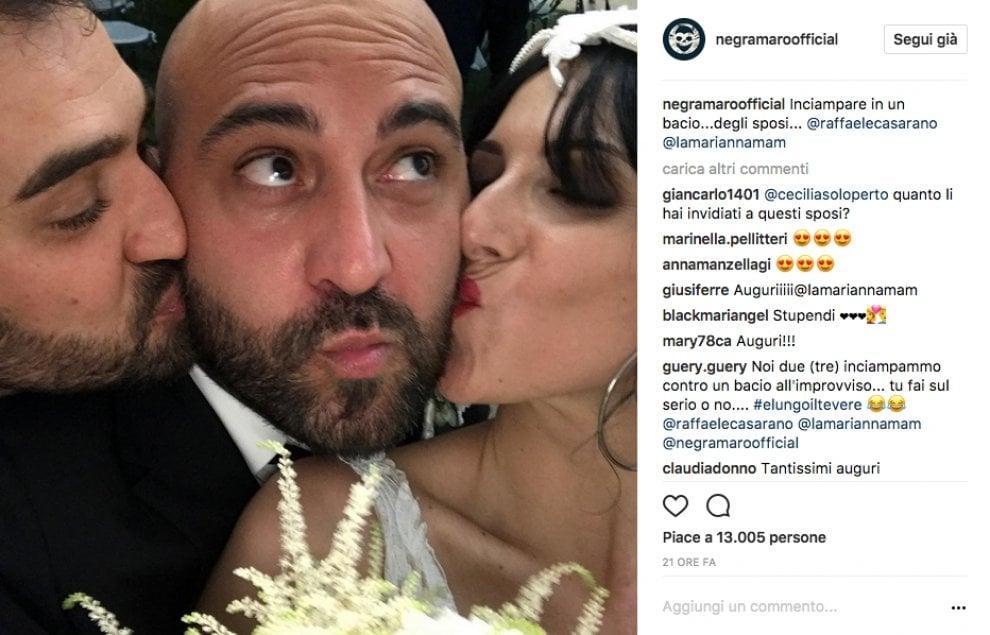 Si sposa il jazzista, Giuliano Sangiorgi è il testimone