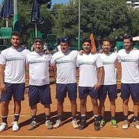Tennis, l'Angiulli Bari torna in serie A: 4-2 al Casale Monferrato nel ritorno