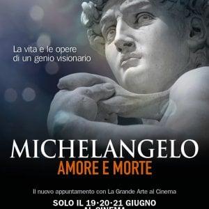 'Michelangelo. Amore e morte', il film sull'artista del Rinascimento nei cinema