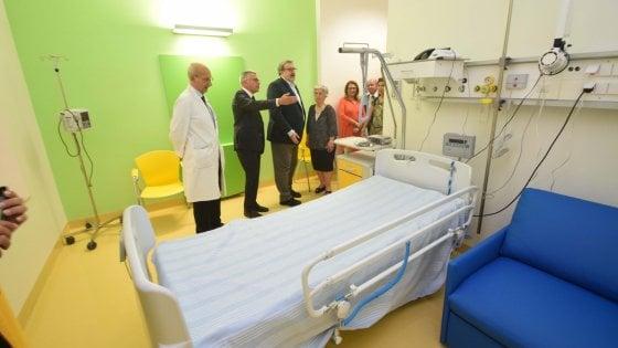 Bari, al Policlinico il nuovo reparto di Oncologia pediatrica: ci sono anche la scuola e il cineforum