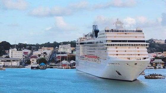 Scomparsa una donna sulla nave da crociera Msc Musica ricerche in corso nell'Alto Adriatico