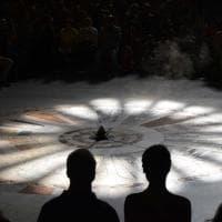 Bari, la magia del sole in Cattedrale per il solstizio