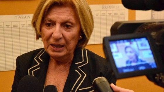 L'ex ministra Poli Bortone assessora a Matera, che fu preferita a Lecce come Capitale della cultura