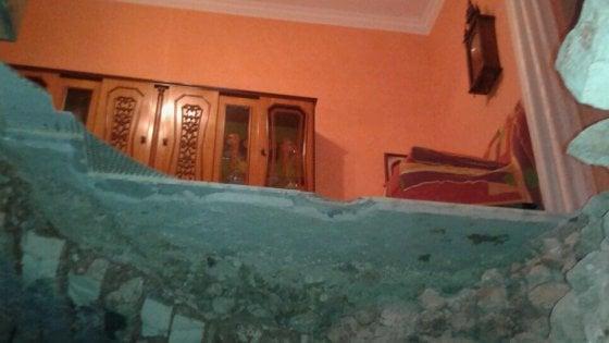 Terremoto Gargano, crolla solaio in palazzina lesionata a Carpino: 3 feriti