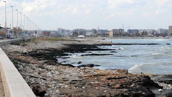 Bari, litorale Sud senza più auto: l'idea del Comune per il restyling del lungomare di San Giorgio