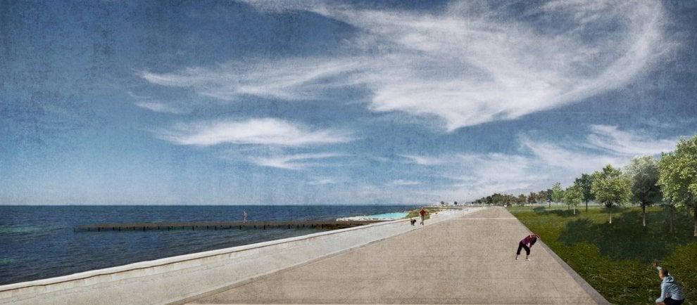 Bari, restyling di San Giorgio: ecco i rendering