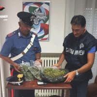 Andria, marijuana e bilancino nascosti nel garage: arrestato un operaio