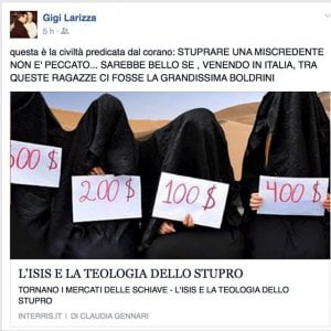 """Taranto, il prete anti-migranti si scatena su Fb dopo i fatti di Napoli: """"Autorizzerei a sparare"""""""