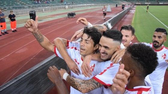 Coppa Italia, il Bari concede il bis: battuta anche la Cremonese (2-1)