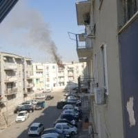 Foggia, appartamento in fiamme per una frittura sul balcone: due feriti